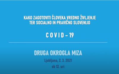 KoDVOS – Video, drugo spletno srečanje z naslovom COVID-19