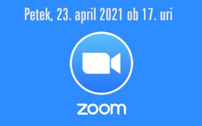 Spletno srečanje – Obeleževanje Dneva upora proti okupatorju 2021
